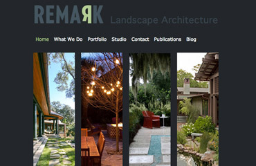 Charleston SC Landscape Architect Website Design